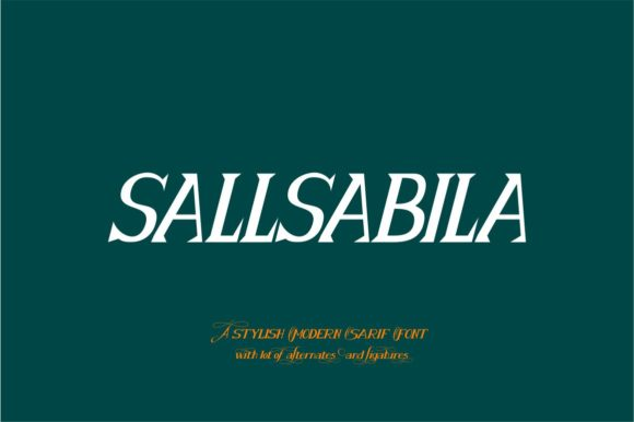 Print on Demand: Sallsabila Script & Handwritten Font By Bot Kerling