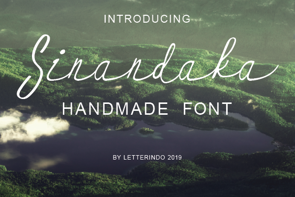 Download Free Sinandaka Font By Johndesign540 Creative Fabrica for Cricut Explore, Silhouette and other cutting machines.