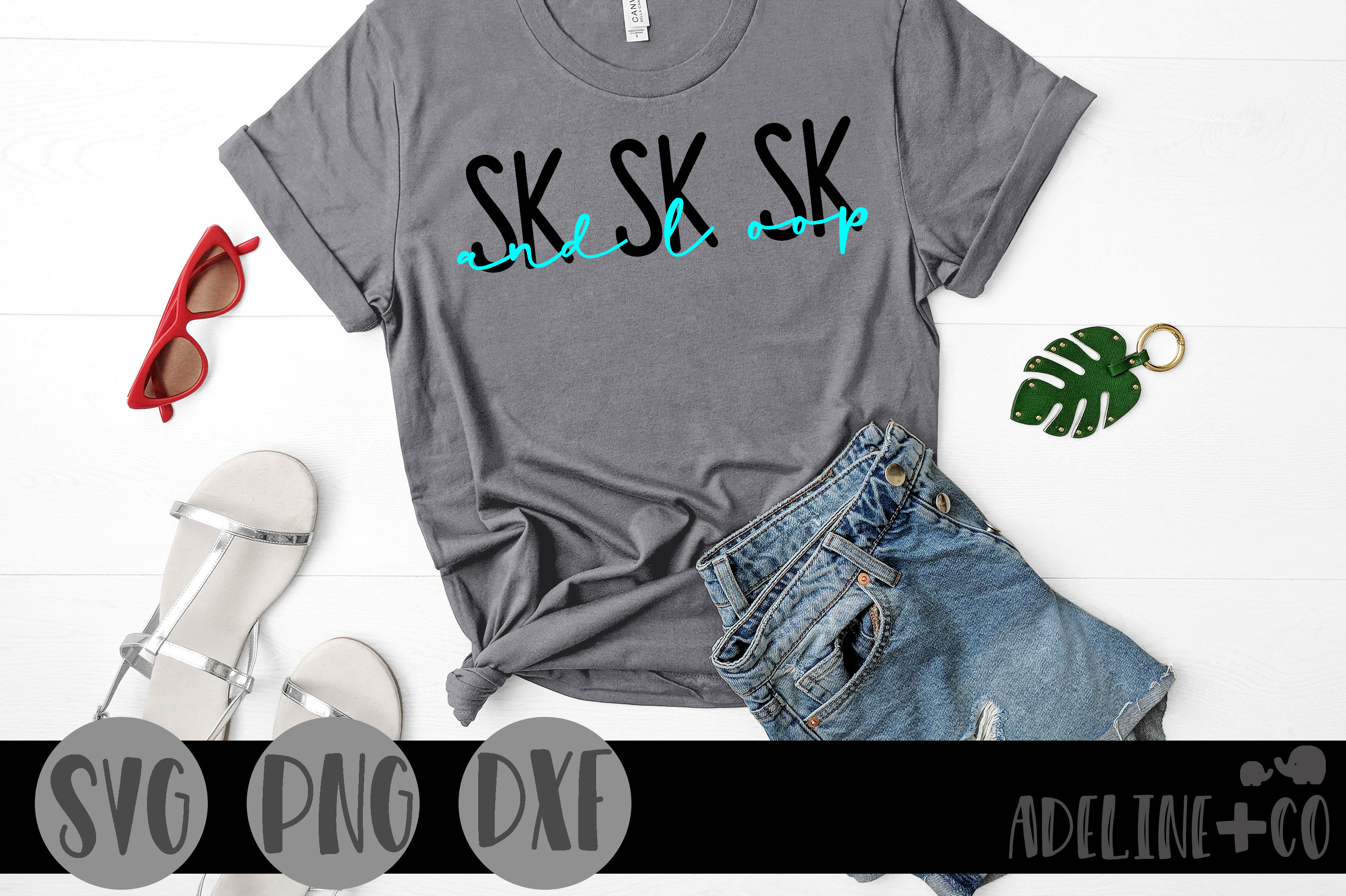 Download Free Sk Sk Sk And I Oop Graphic By Adelinenco Creative Fabrica for Cricut Explore, Silhouette and other cutting machines.