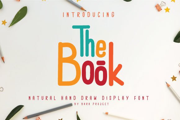 Print on Demand: The Book Display Font By Baraproject87