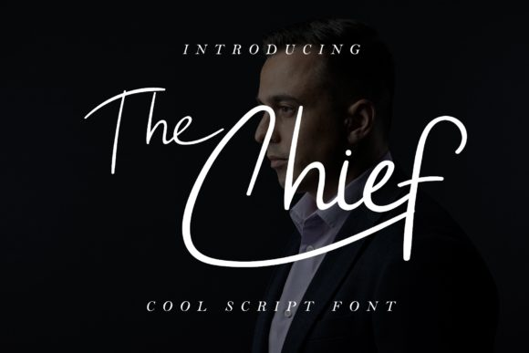 Print on Demand: The Chief Script & Handwritten Font By airotype
