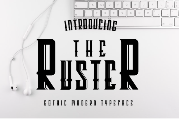 Print on Demand: The Ruster Decorative Font By All About Design