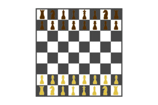 Chess Board Games Craft Cut File By Creative Fabrica Crafts