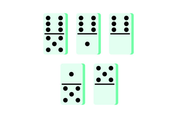 Dominoes Games Craft Cut File By Creative Fabrica Crafts