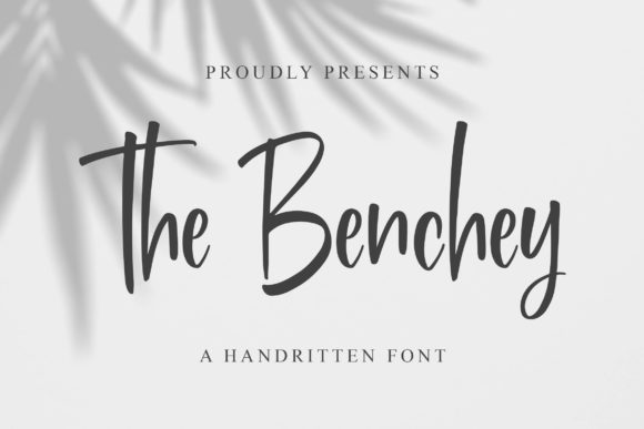 Print on Demand: Benchey Display Font By Blankids Studio