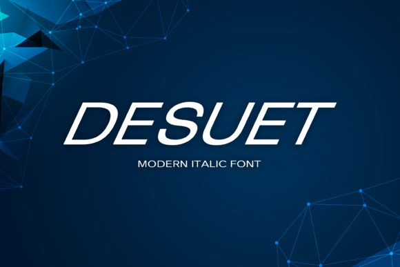 Print on Demand: Desuet Display Font By maxim.90.ivanov