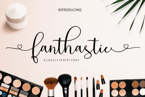 Print on Demand: Fanthastic Script & Handwritten Font By JhoelDesign - Image 1