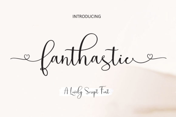 Print on Demand: Fanthastic Script & Handwritten Font By JhoelDesign - Image 10
