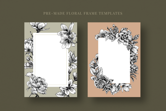 Floral & Botanical Illustration Bundle Graphic Illustrations By roughedgessupply - Image 15