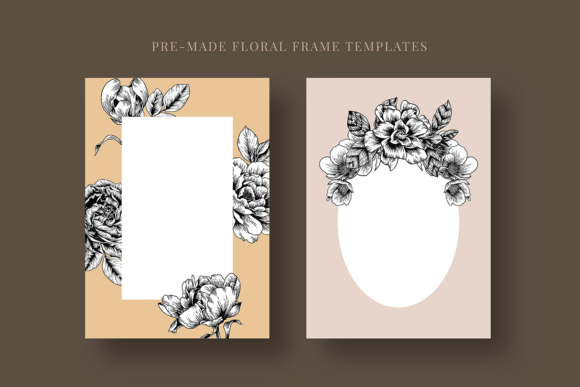 Floral & Botanical Illustration Bundle Graphic Illustrations By roughedgessupply - Image 16