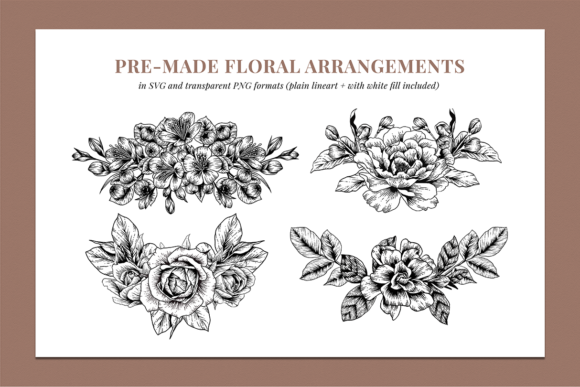 Floral & Botanical Illustration Bundle Graphic Illustrations By roughedgessupply - Image 7