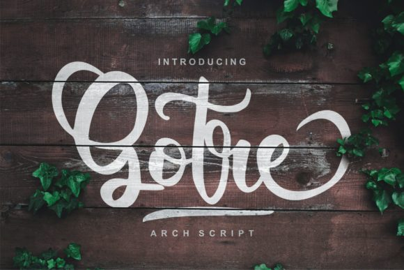 Print on Demand: Gotre Script & Handwritten Font By Vunira