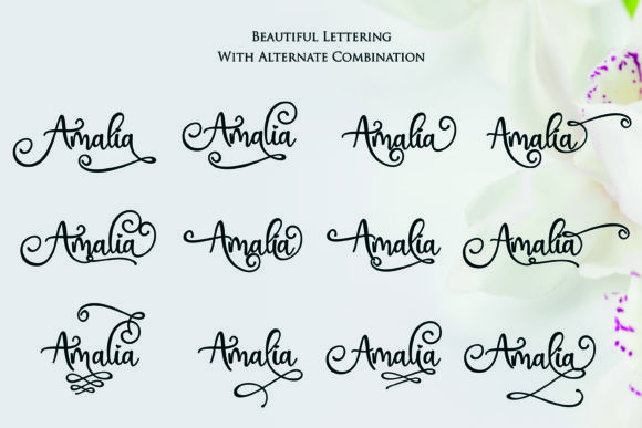 Print on Demand: Hai Butterfly Duo Script & Handwritten Font By Girinesia - Image 11