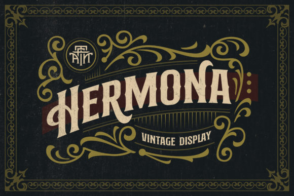Print on Demand: Hermona Display Font By Arterfak Project