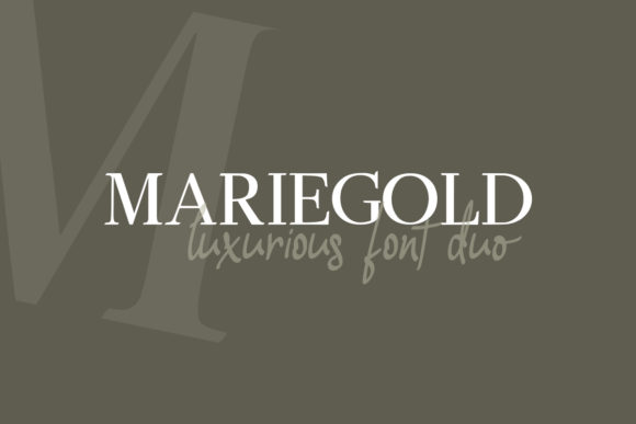 Print on Demand: Mariegold Duo Serif Font By Nico Muslib - Image 11