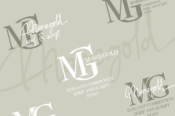 Print on Demand: Mariegold Duo Serif Font By Nico Muslib - Image 2