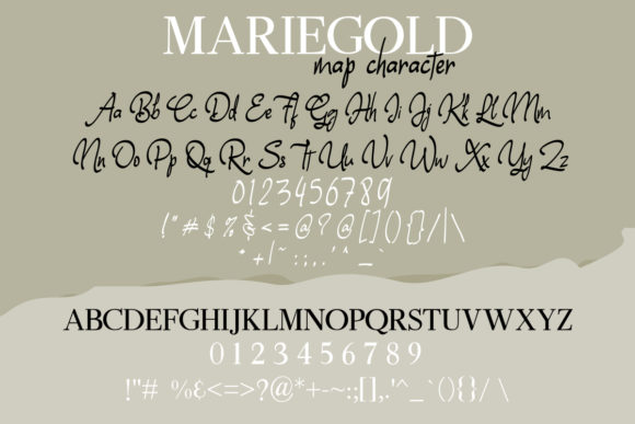 Print on Demand: Mariegold Duo Serif Font By Nico Muslib - Image 8