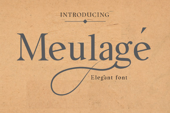 Print on Demand: Meulage Sans Serif Font By ed.creative
