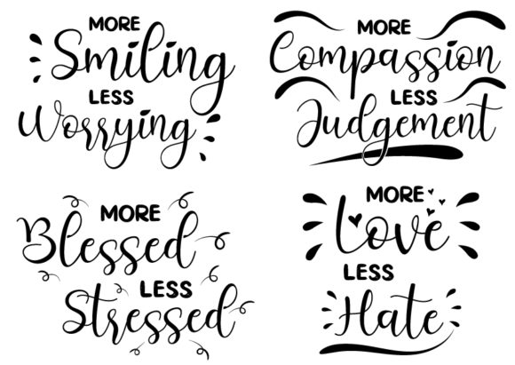 Download Free More Love Less Hate Graphic By Design From Home Creative Fabrica for Cricut Explore, Silhouette and other cutting machines.