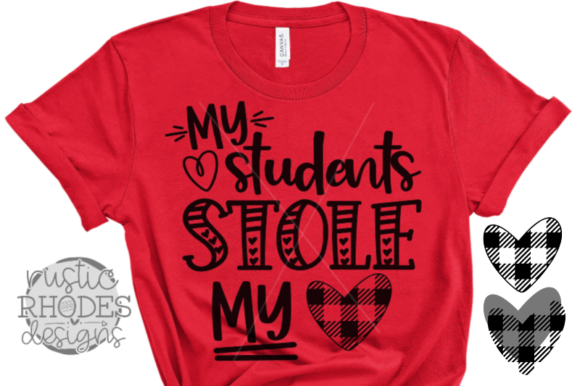 Download Free My Students Stole My Heart Graphic By Samantharhodes14 Creative Fabrica for Cricut Explore, Silhouette and other cutting machines.