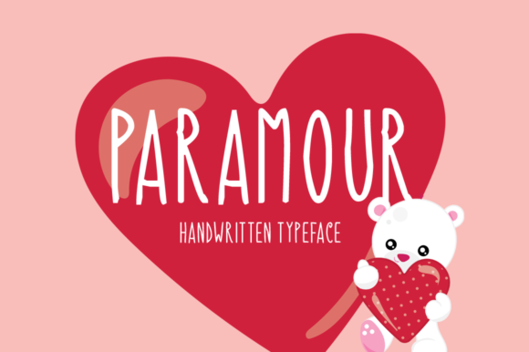 Print on Demand: Paramour Display Font By Instagram Fonts