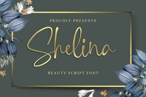 Print on Demand: Shelina Script & Handwritten Font By Blankids Studio - Image 1