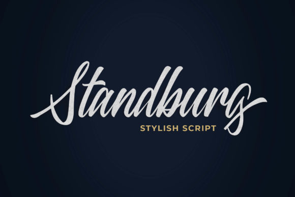 Print on Demand: Standberg Script & Handwritten Font By Blankids Studio