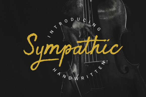 Print on Demand: Sympathic Script & Handwritten Font By Letterature Std.