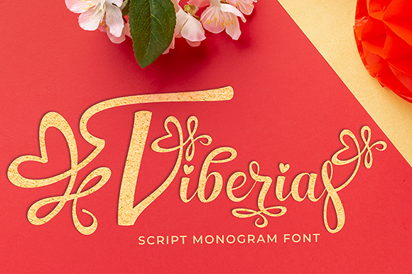 Print on Demand: Tiberias Decorative Font By utopiabrand19 - Image 1