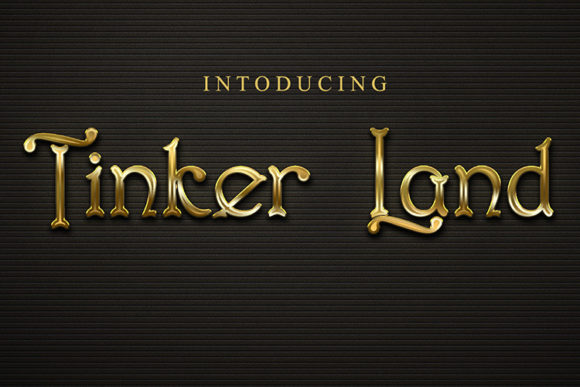 Print on Demand: Tinker Land Display Font By Black Lotus - Image 1