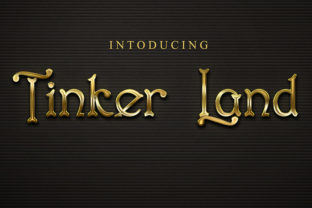 Print on Demand: Tinker Land Display Font By Black Lotus