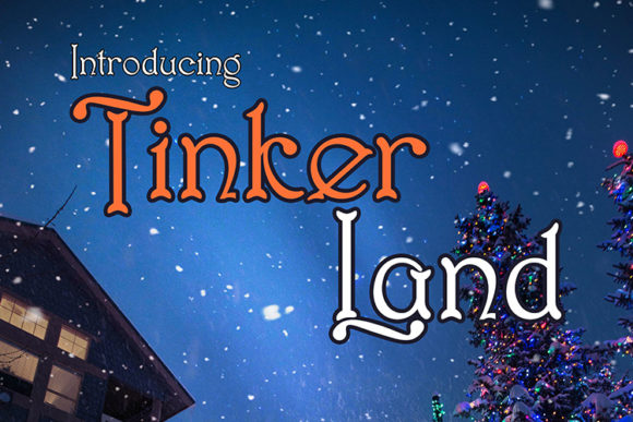 Print on Demand: Tinker Land Display Font By Black Lotus - Image 9