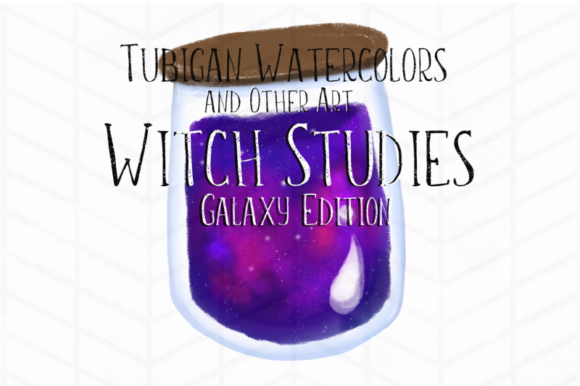 Print on Demand: 12 Witch Studies Galaxy Ed Graphic Illustrations By Tubiganart - Image 3