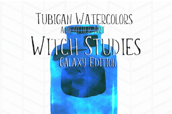 Print on Demand: 12 Witch Studies Galaxy Ed Graphic Illustrations By Tubiganart - Image 4