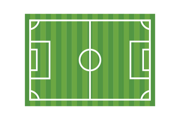 Soccer Field Sports Craft Cut File By Creative Fabrica Crafts - Image 1