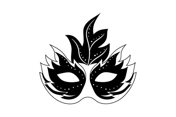 Mardi Gras Mask Svg Cut File By Creative Fabrica Crafts