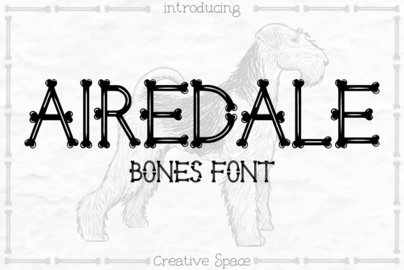 Print on Demand: Airedale Display Font By creativespace