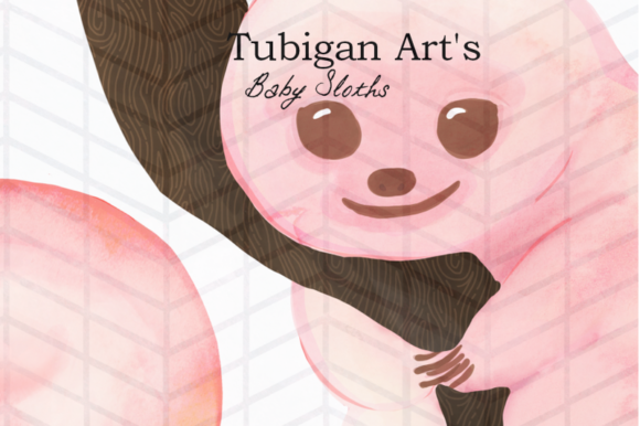 Print on Demand: Baby Sloth Graphic Illustrations By Tubiganart - Image 2
