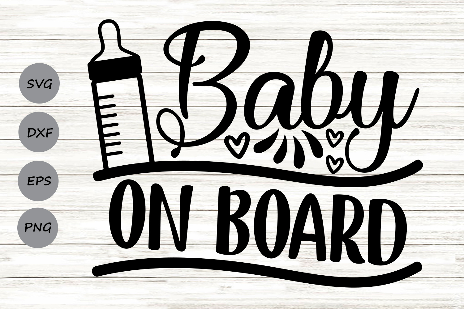 Baby On Board Graphic By Cosmosfineart Creative Fabrica
