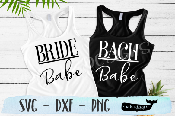 Download Free Bachelorette Bride Bach Babe Wedding Graphic By Whaleysdesigns Creative Fabrica for Cricut Explore, Silhouette and other cutting machines.