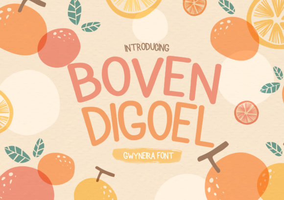 Print on Demand: Boven Digoel Script & Handwritten Font By a.gwyneira