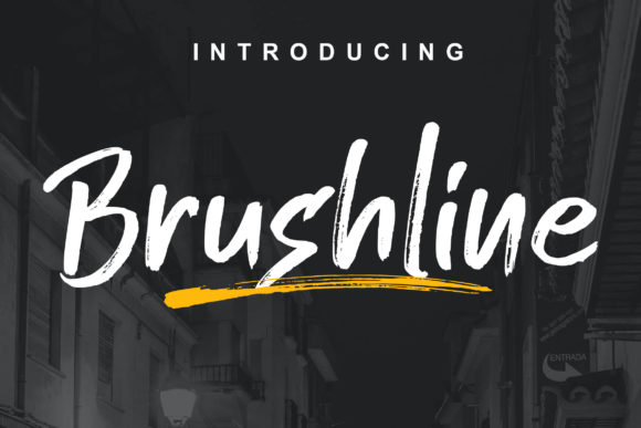 Print on Demand: Brushline Manuscrita Fuente Por Lettersiro Co.