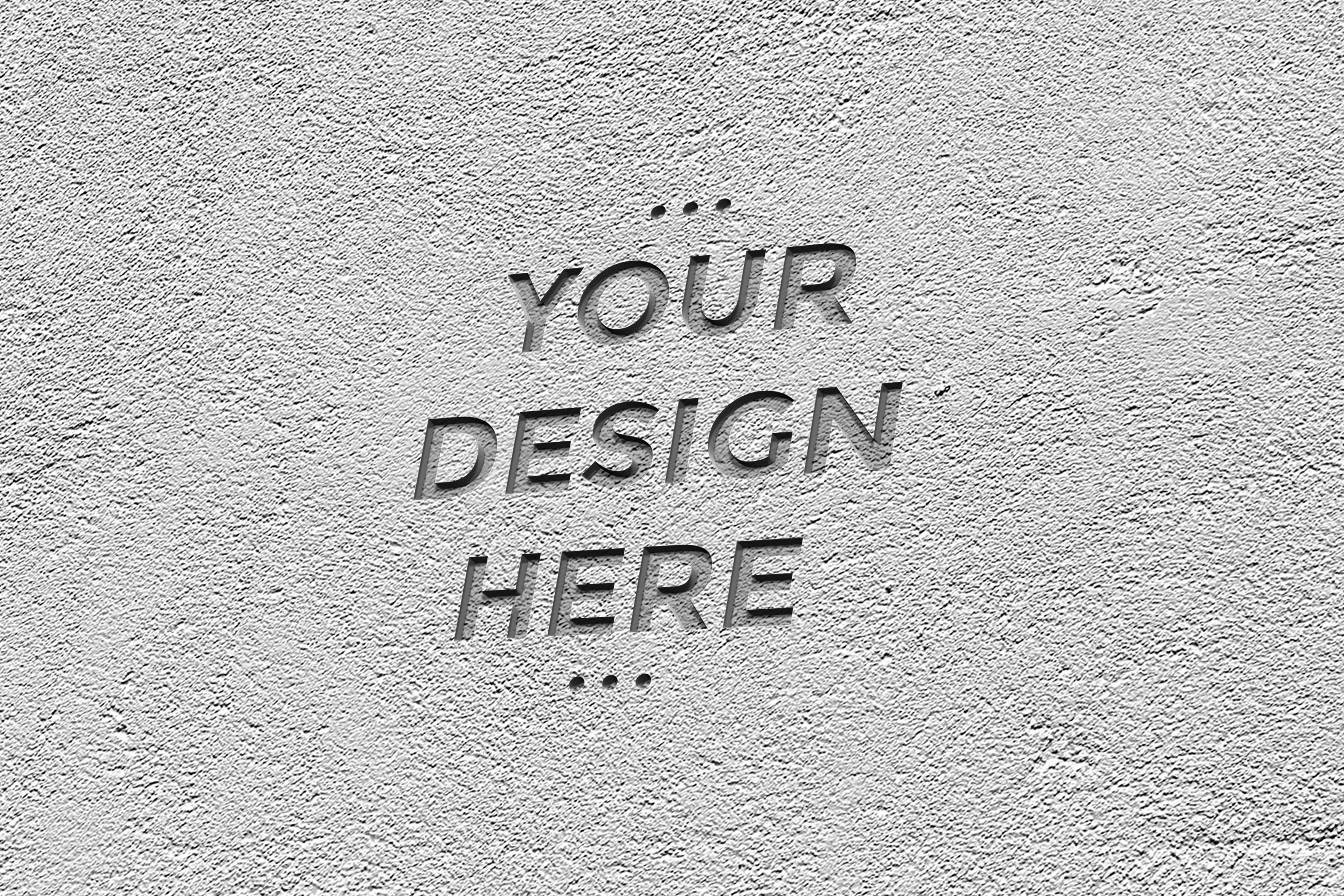 Download Free Cement Engraved Mockup Graphic By Suedanstock Creative Fabrica for Cricut Explore, Silhouette and other cutting machines.