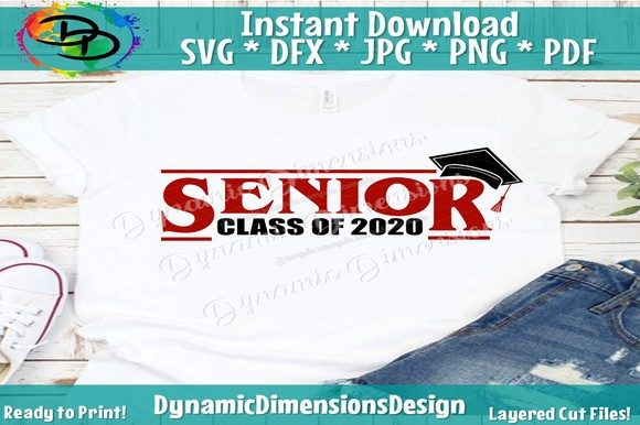 Download Free Class Of 2020 Graduation Graphic By Dynamicdimensions Creative SVG Cut Files