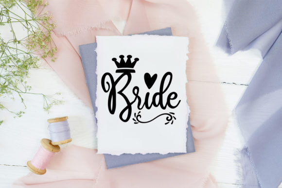 Print on Demand: Cute Wedding Overlays-Wedding Cliparts Graphic Illustrations By Happy Printables Club - Image 2