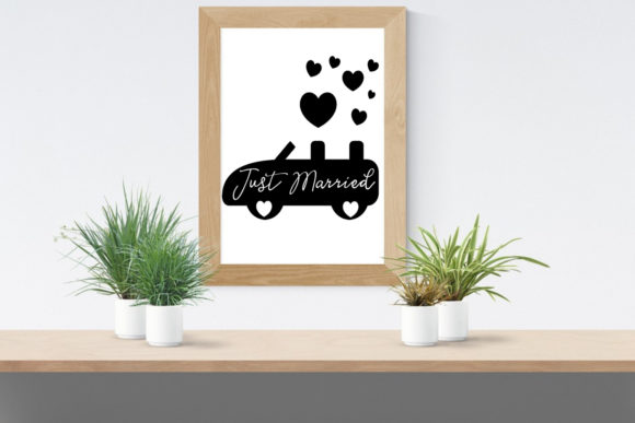 Print on Demand: Cute Wedding Overlays-Wedding Cliparts Graphic Illustrations By Happy Printables Club - Image 6