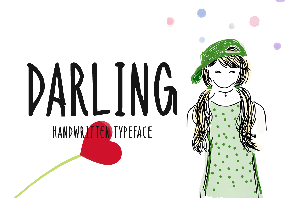 Download Free Darling Font By Instagram Fonts Creative Fabrica for Cricut Explore, Silhouette and other cutting machines.