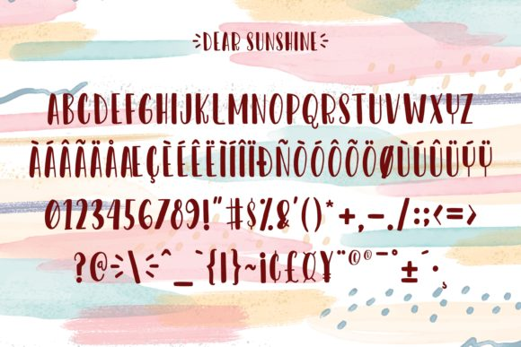 Print on Demand: Dear Sunshine Script & Handwritten Font By almarkhatype - Image 9