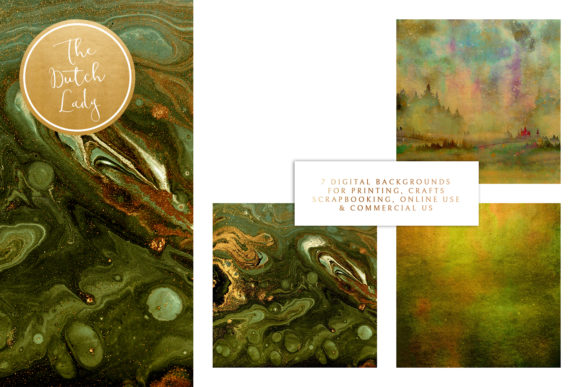 Print on Demand: Digital Backgrounds - Forest Fire Graphic Backgrounds By daphnepopuliers - Image 3
