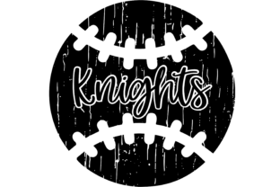 Download Free Distressed Knights Baseball Decal Graphic By Am Digital Designs for Cricut Explore, Silhouette and other cutting machines.